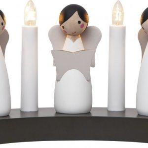 Angel Choir ljusstake (Vit)