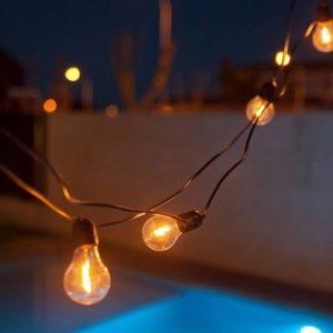 Newgarden Allegra LED-ljusslinga RGBW svart