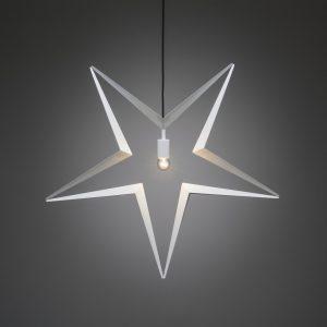 Metallstjärna 80cm (Vit)