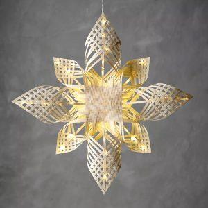 Bambustjärna 65cm LED