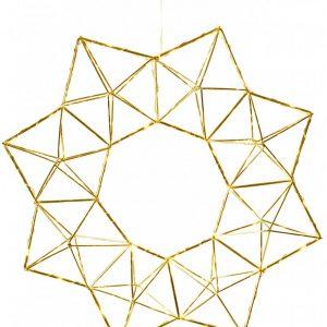 EDGE metallstjärna 30L mässing (Mässing/guld)