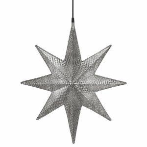 Capella Stjärna Svart nickel 40cm