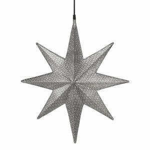 Capella Stjärna Svart nickel 50cm