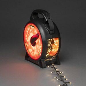 LED-ljusslinga Compact varmvit 400 LED 8,78 m