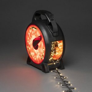 LED-ljusslinga Compact varmvit 600 LED 13,18 m