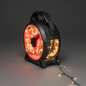 LED-ljusslinga Micro varmvit 600 lampor 41,93 m